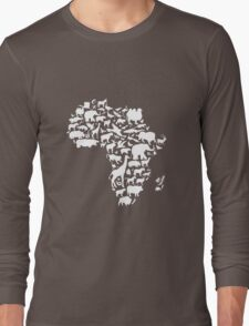 Animals of Africa Long Sleeve T-Shirt