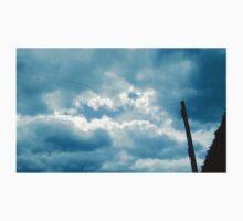 Sky Behind the clouds Kids Tee