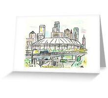 Metrodome Greeting Card
