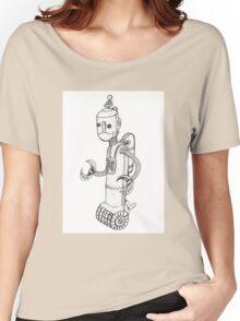 Steam Powered Robot Women's Relaxed Fit T-Shirt