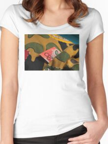 Money Never Sleeps ? Women's Fitted Scoop T-Shirt