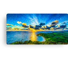 Sunrise over Lord Howe Canvas Print