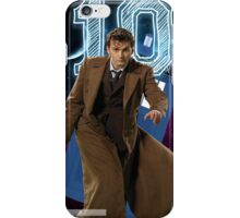 Tenth Doctor - Greeting Card iPhone Case/Skin