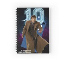 Tenth Doctor - Greeting Card Spiral Notebook