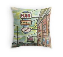 Avoca Bar Throw Pillow