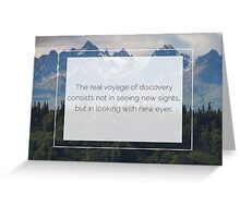 The beauty is in the eyes of the beholder Greeting Card