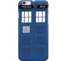 Home Is Where The Tardis Is iPhone Case/Skin