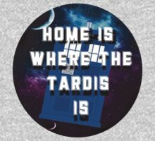 Home Is Where The Tardis Is by thescudders