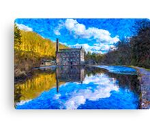 The Old Mill Pond Canvas Print