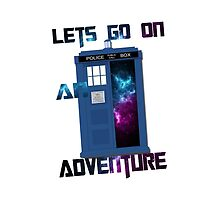 TARDIS-Let's go on an adventure #2 by thescudders