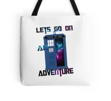 TARDIS-Let's go on an adventure #2 Tote Bag