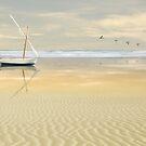 Soft Sunrise on the Beach 2 by Carlos Casamayor