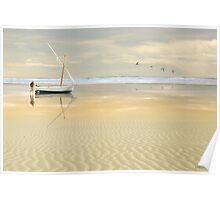 Soft Sunrise on the Beach 2 Poster