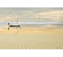 Soft Sunrise on the Beach 2 Photographic Print