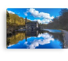 The Old Mill Pond Metal Print