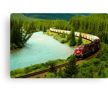 Canadian Pacific Railway Canvas Print