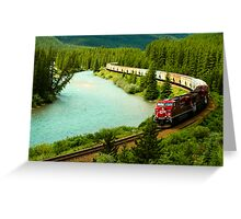 Canadian Pacific Railway Greeting Card