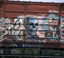 """Boxcar Art"". Washington DC. 2008 by jwhimages"