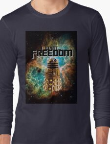 I want...freedom [Nebulosa] Long Sleeve T-Shirt