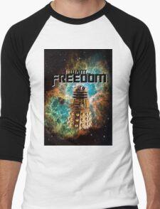 I want...freedom [Nebulosa] Men's Baseball ¾ T-Shirt