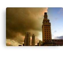 Scenes from Miami VIII Canvas Print