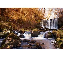 Scale Haw Falls Photographic Print