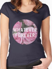 Whatever Forever Women's Fitted Scoop T-Shirt