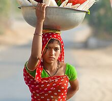 The Innocent Beauty and Colors of Rajasthan by Mukesh Srivastava