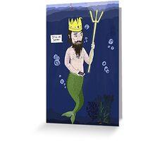 SeaKing Signal Greeting Card