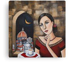 Cafe Italia Canvas Print