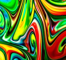 Swirls of Colour by Linda Fury