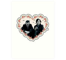 Hearted Sheriarty Art Print