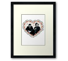 Hearted Sheriarty Framed Print
