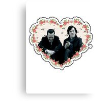 Hearted Sheriarty Canvas Print