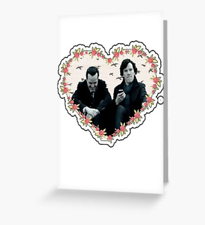 Hearted Sheriarty Greeting Card