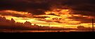 Such an awesome sunset! by Qnita