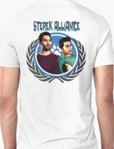 The Ultimate Sterek Alliance T-Shirt [Back] Unisex T-Shirt