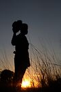 Cowboy in the Sunset... by Qnita