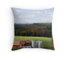 Pennsylvania Countryside in the Fall Throw Pillow