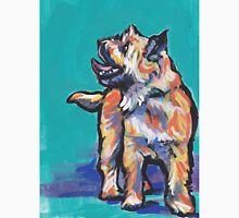 Cairn Terrier Dog Bright colorful pop dog art Unisex T-Shirt