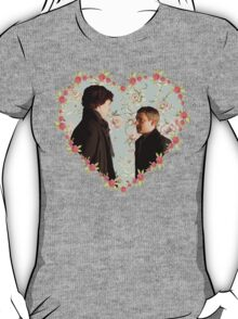 Johnlock- Heart (One) T-Shirt