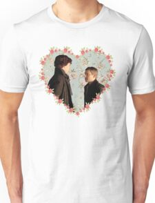 Johnlock- Heart (One) Unisex T-Shirt
