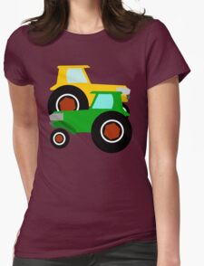 RED TRACTOR GREEN TRACTOR Womens Fitted T-Shirt