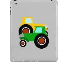 RED TRACTOR GREEN TRACTOR iPad Case/Skin