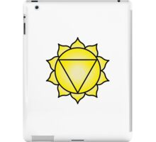 The Solar Plexus Chakra iPad Case/Skin