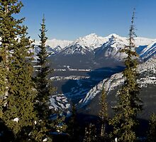 Sulphur Mountain Panorama by James Farnan