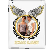The Scissac Alliance [Front/Back] iPad Case/Skin