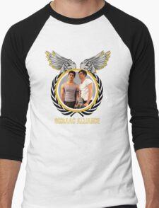 The Scissac Alliance [Front/Back] Men's Baseball ¾ T-Shirt