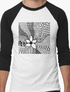 Flower Explosion Men's Baseball ¾ T-Shirt