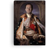 The Current King Of England- Mycroft Holmes Canvas Print